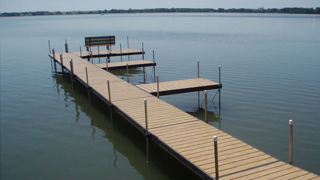 donaldson dock boat dock designs spirit lake okoboji iowa great lakes